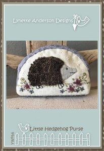 Little Hedgehog Purse - Lynette Anderson