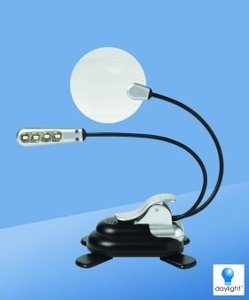 Lamp LED MicroMax - Zilver