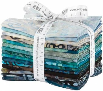 Fat Quarter Bundle Nature's Textures 2 Rain 15st