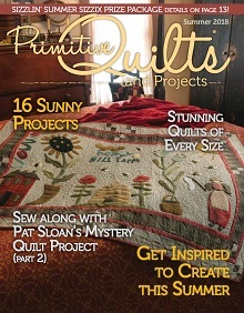 No 29 Zomer 2018 - Primitive Quilts & Projects