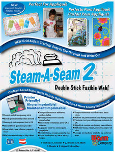 Steam A Seam 2 - 23cm x 30,5cm (5x)