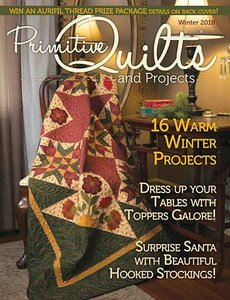 No 31 Winter 2018 - Primitive Quilts & Projects
