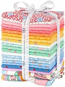 Fat Quarter Bundle Penny's Dollhouse 2, 22st