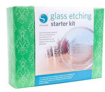 Silhouette Kit Glass Etching Starter Kit