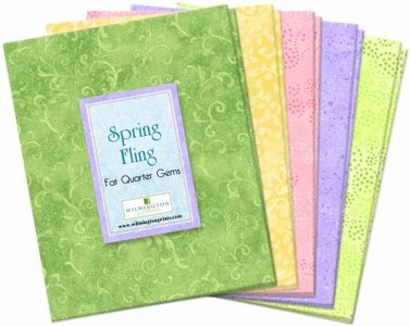 Wilmington Fat Quarter Spring Fling 20pcs