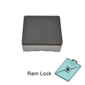 10cm x 10cm Warmteplaat RamLock - GALAXY