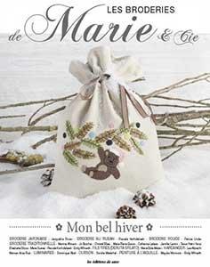 Mon bel hiver - Les Broderies de Marie & Cie N°9