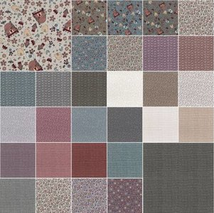 Fat Quarter Bundle Sweet Garden of Mine 30st