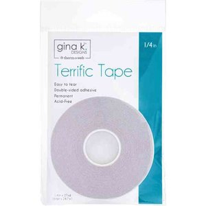 Terrific Tape 1/4in - Gina K Designs
