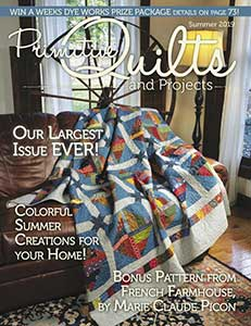 No 33 Ete 2019 - Primitive Quilts & Projects