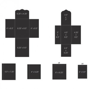 Pocket and Flipfold Inserts E - Black