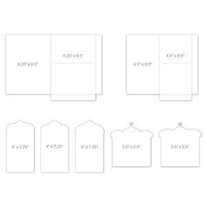 Pocket and Flipfold Inserts F - White