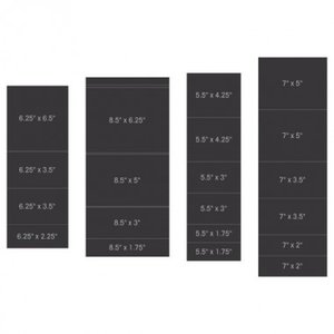 Pocket and Flipfold Inserts B - Black