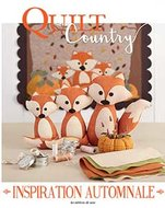 Quilt Country 62 - Inspiration Automnale