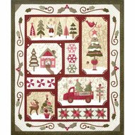 """Sew Merry Kit Dark, Finished quilt: 60"""" x 71"""""""