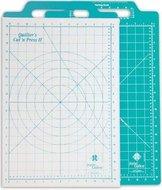 """Snij- & Strijkmat Quilter's Cut 'n Press II Teal 12"""" x 18"""""""