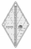 60 Degree Mini Diamond Ruler- Creative Grids