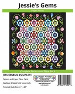Jessie's Gems Complete Pattern and Paper Piece Pack by Paper Pieces