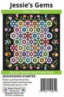 Jessie's Gems Starter Pattern and Paper Piece Pack by Paper Pieces