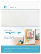 Zelfklevend Golvend Papier 6pcs SILHOUETTE