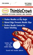 Thimble Crown Stainless Steel With Adhesive