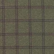 Woolies Deep Green Double Windowpane Flannel