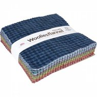 5in Squares Woolies Flannel Colors 42pcs