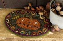 Prize Pumpkin - Punchneedle