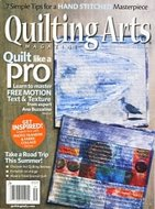 Quilting Arts august/september 2017