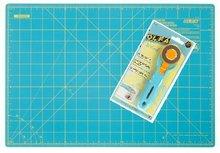 PROMO! Olfa Snijmat + Cutter Splash Aqua