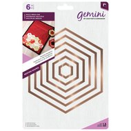 Nesting Dies Hexagons - Gemini