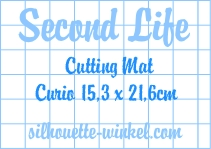 Second Life - Snijmat kleefvellen Curio 15,3cm (3x)