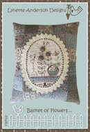 Basket of Flowers Pillow - Lynette Anderson