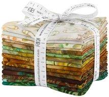 Fat Quarter Bundle Nature's Textures 2 Earth 15st