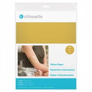 Tattoo Paper Gold SILHOUETTE