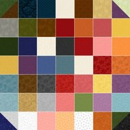Fat Quarter Bundle Colorwall 53st