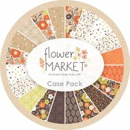 Fat Quarter Flower Market 13st